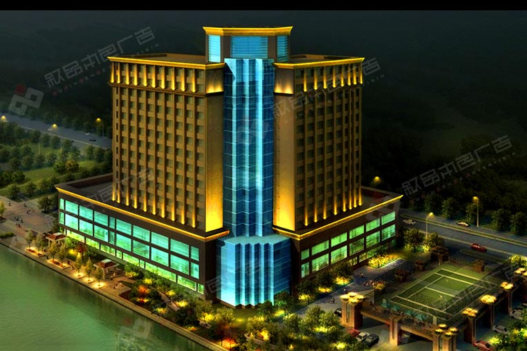 城市亮化工程图片