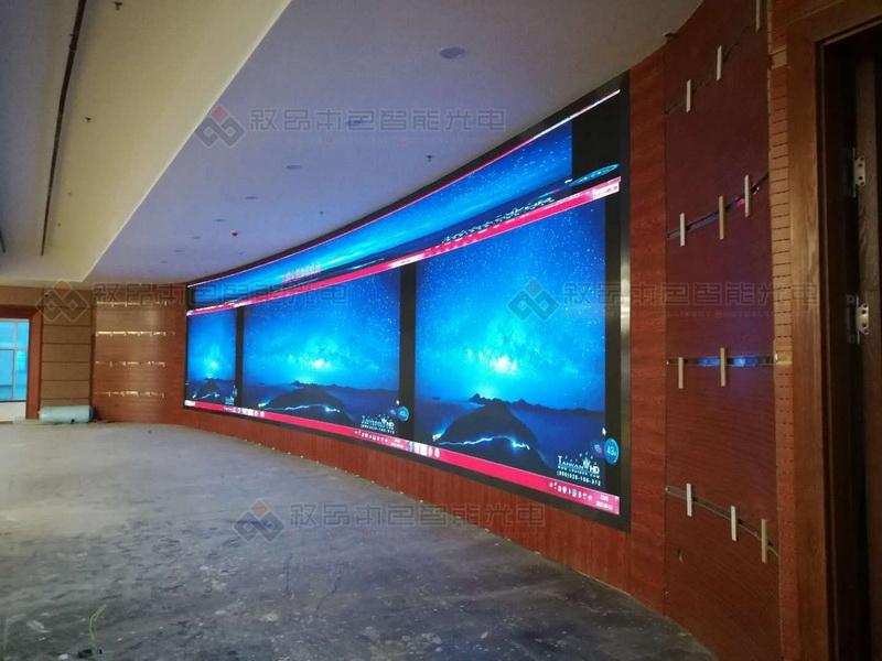 五彩湾九州大厦LED显示屏图片