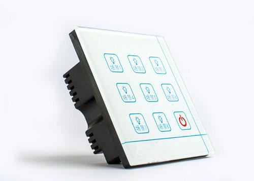 联网亮化节能控制面板图片