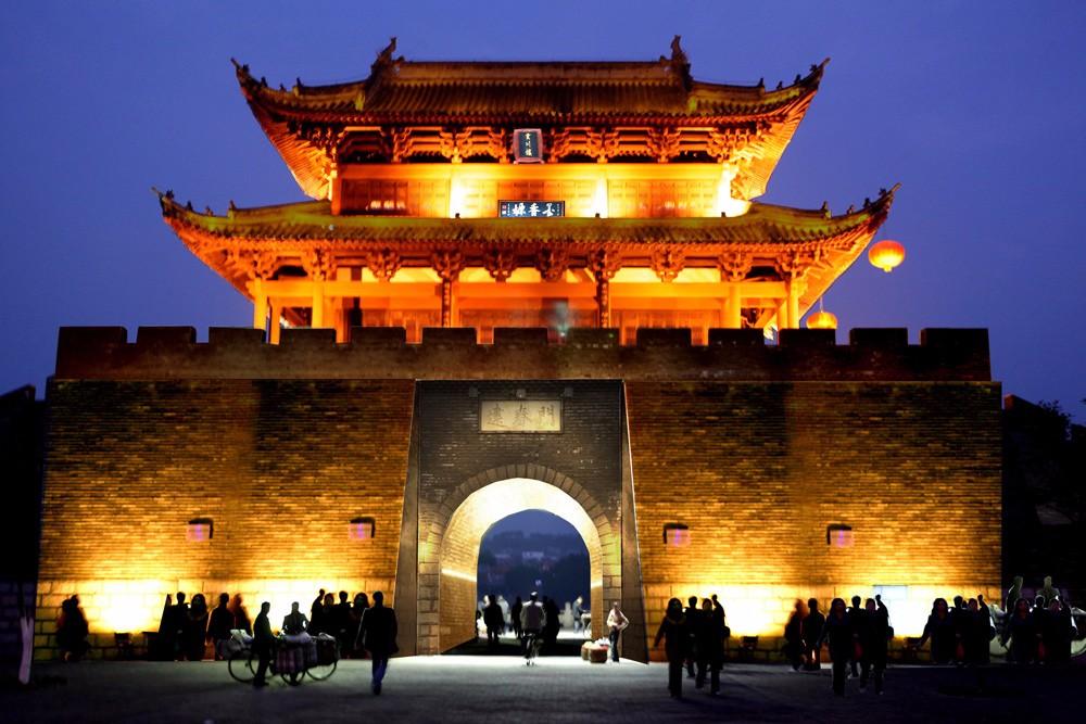 城市景观照明-赣州城市照明规划设计图片