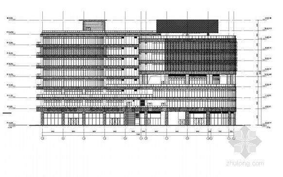 商业广场建筑泛光照明工程全套电气施工图纸
